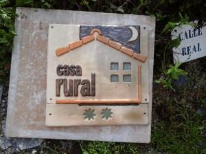 Placa Turismo Rural actualizada 2