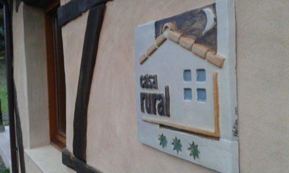 placa Casa Rural